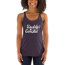 Kinky Cloth Vintage Purple / XS Daddy's Cumslut Tank Top