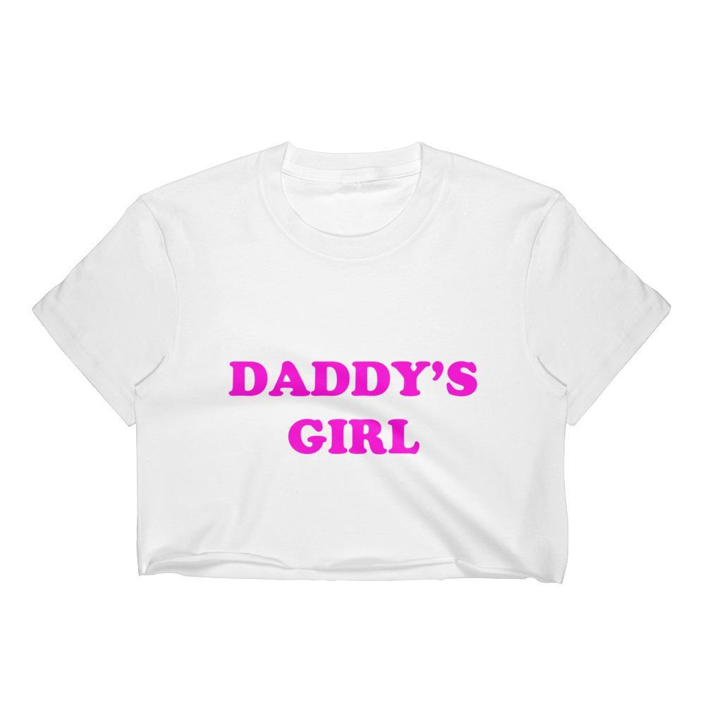 Daddy's Girl Retro Crop Top