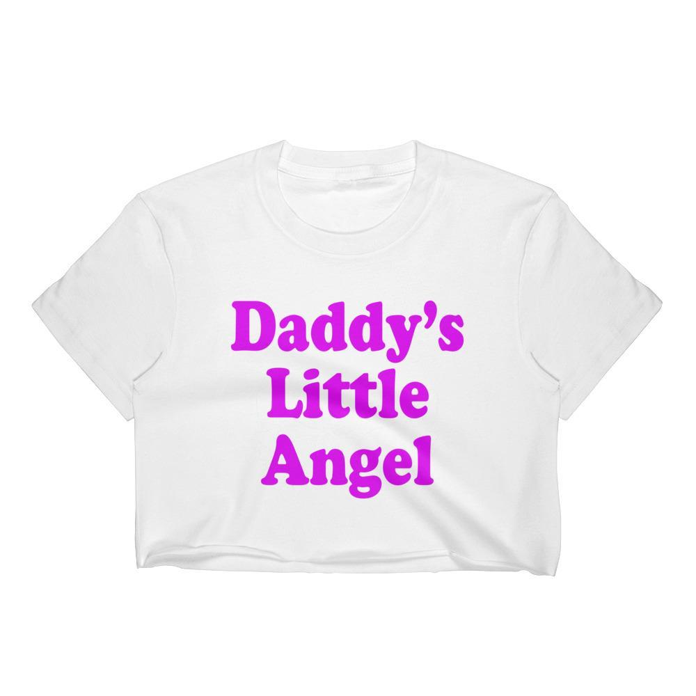 Kinky Cloth White / S Daddy's Little Angel