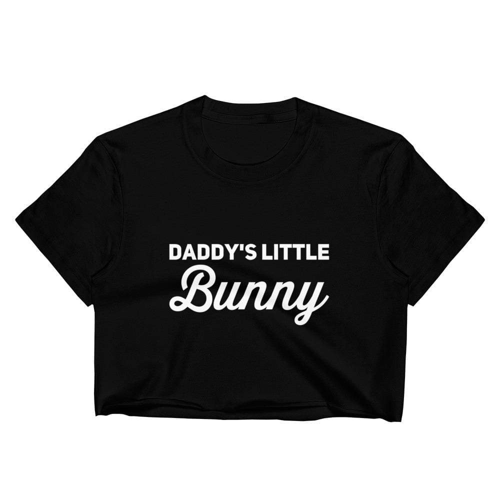 Kinky Cloth S Daddy's Little Bunny Crop Top
