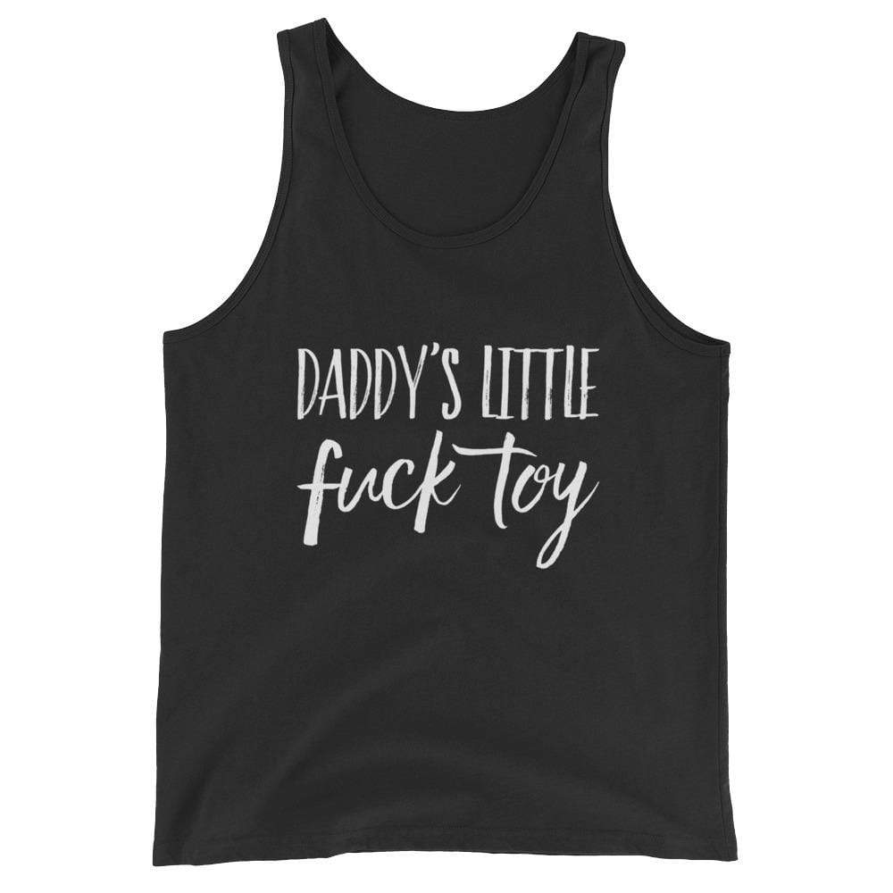 Kinky Cloth Black / XS Daddy's Little Fuck Toy Tank Top