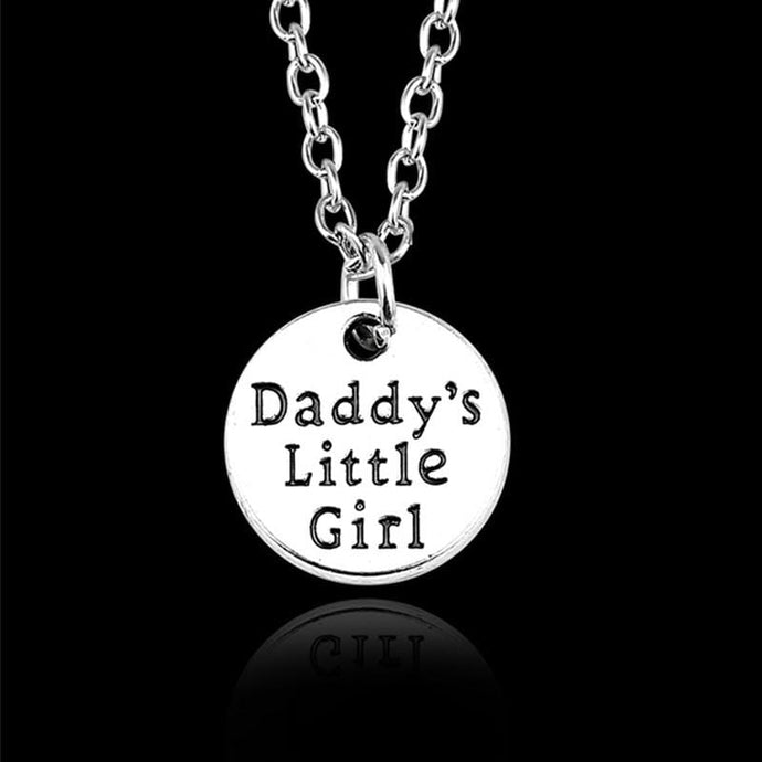 Kinky Cloth Jewelry & Watches Daddy's Little Girl Necklace