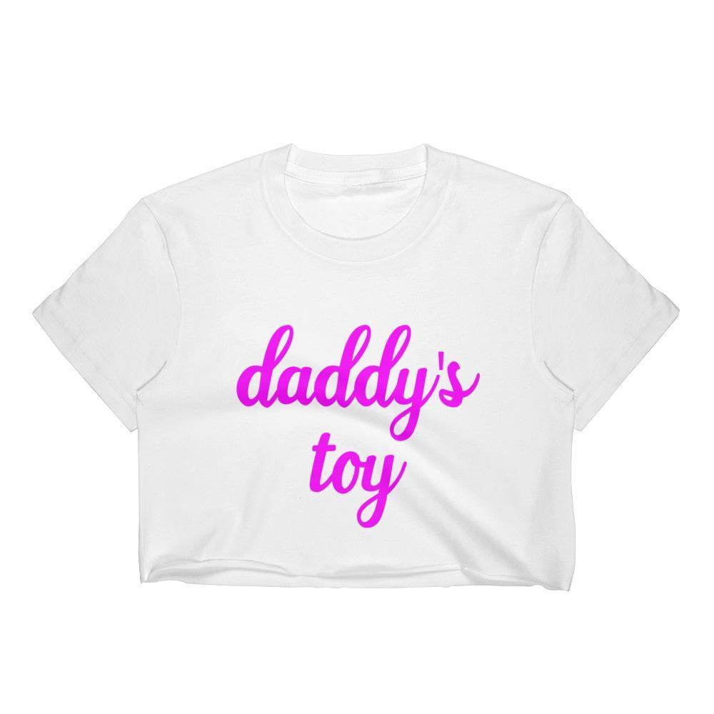 Daddy's Toy Crop Top