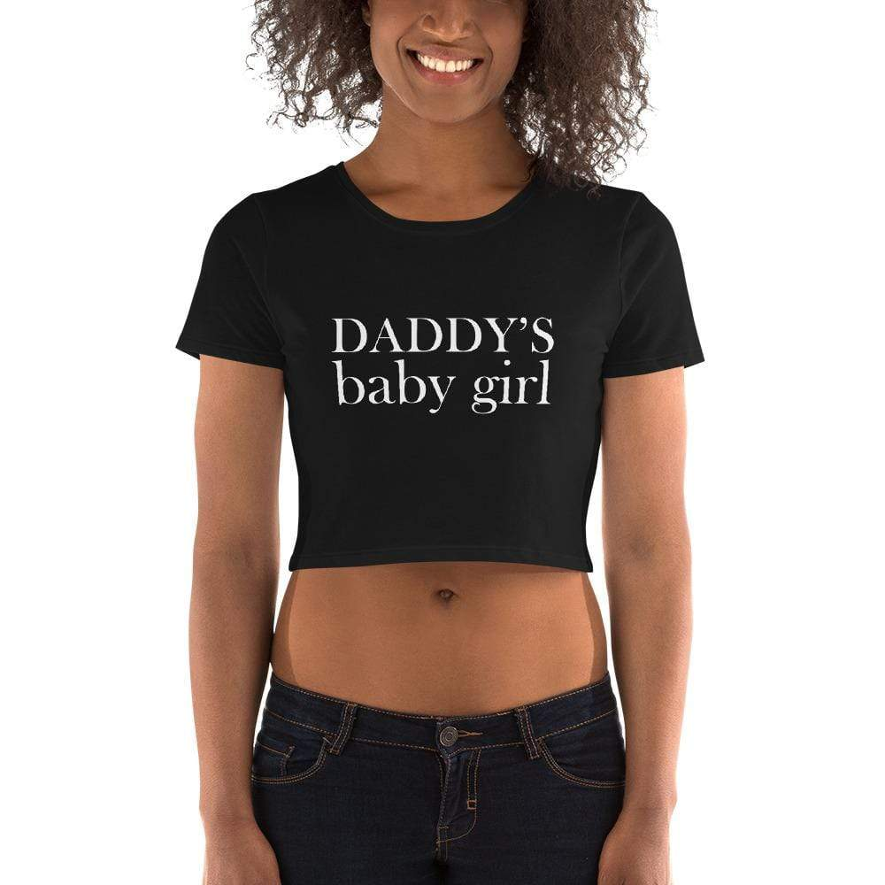 Daddy's Baby Girl Crop Top Tee