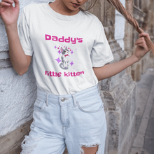 Load image into Gallery viewer, Daddys Little Kitten Crop Top