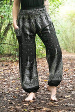 Tan Smokey Women's Clothing Dark Feather Harem Pants