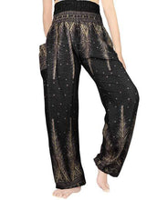 Dark Feather Harem Pants at Kinky Cloth