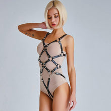 Kinky Cloth Deux Cross Harness