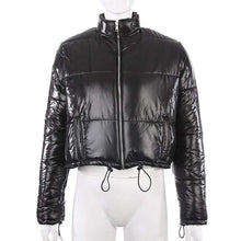 Kinky Cloth 200001908 Drawstring Cropped Puffer Jacket