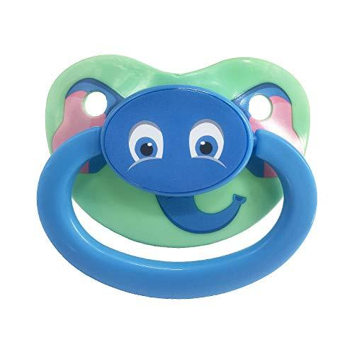 Kinky Cloth 200002052 Elephant Adult Baby Pacifier