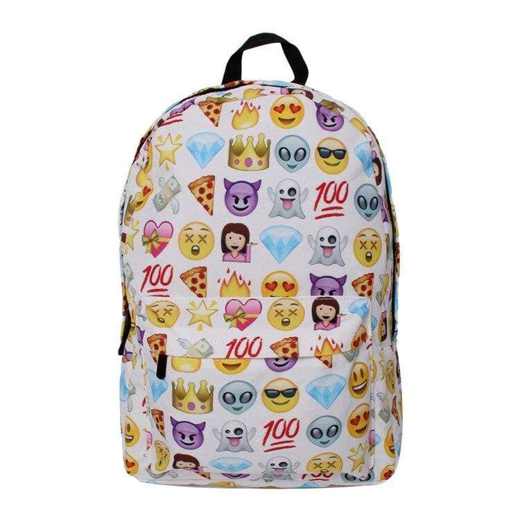 Kinky Cloth 152401 2 Emoji Backpack