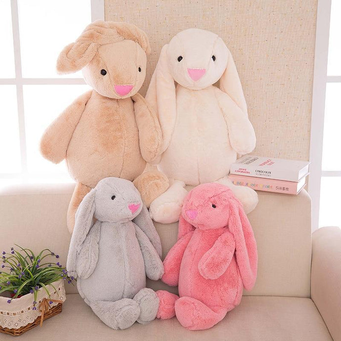 Kinky Cloth Stuffed Animal Floppy Ear Bunny Plushie