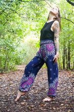 Floral Mandala Yoga Harem Pants at Kinky Cloth