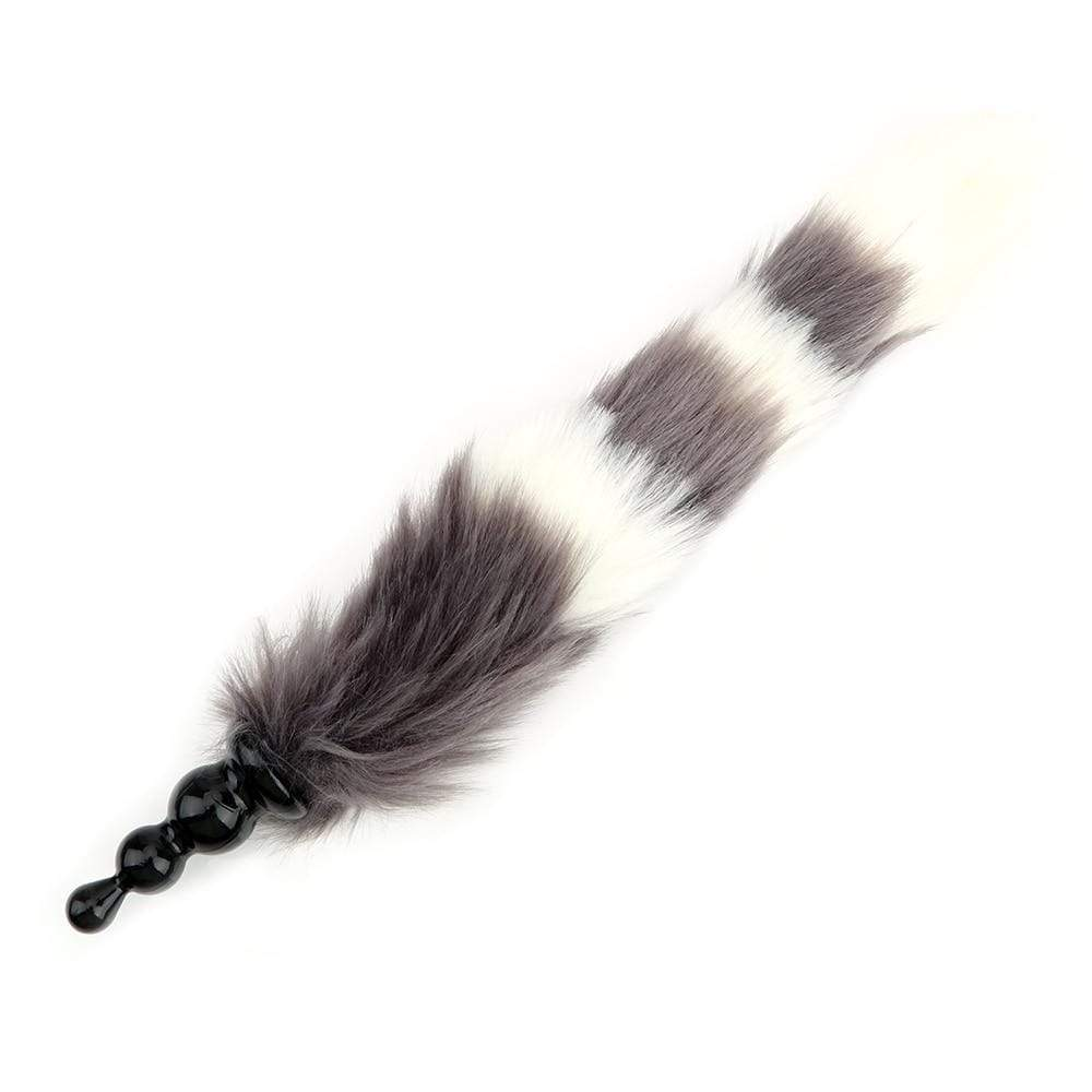 Kinky Cloth 200001518 Fox Long Tail Plug