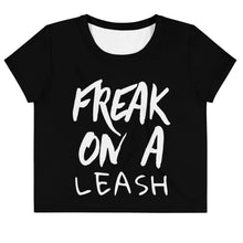 Kinky Cloth XS Freak On a Leash Crop Top Tee