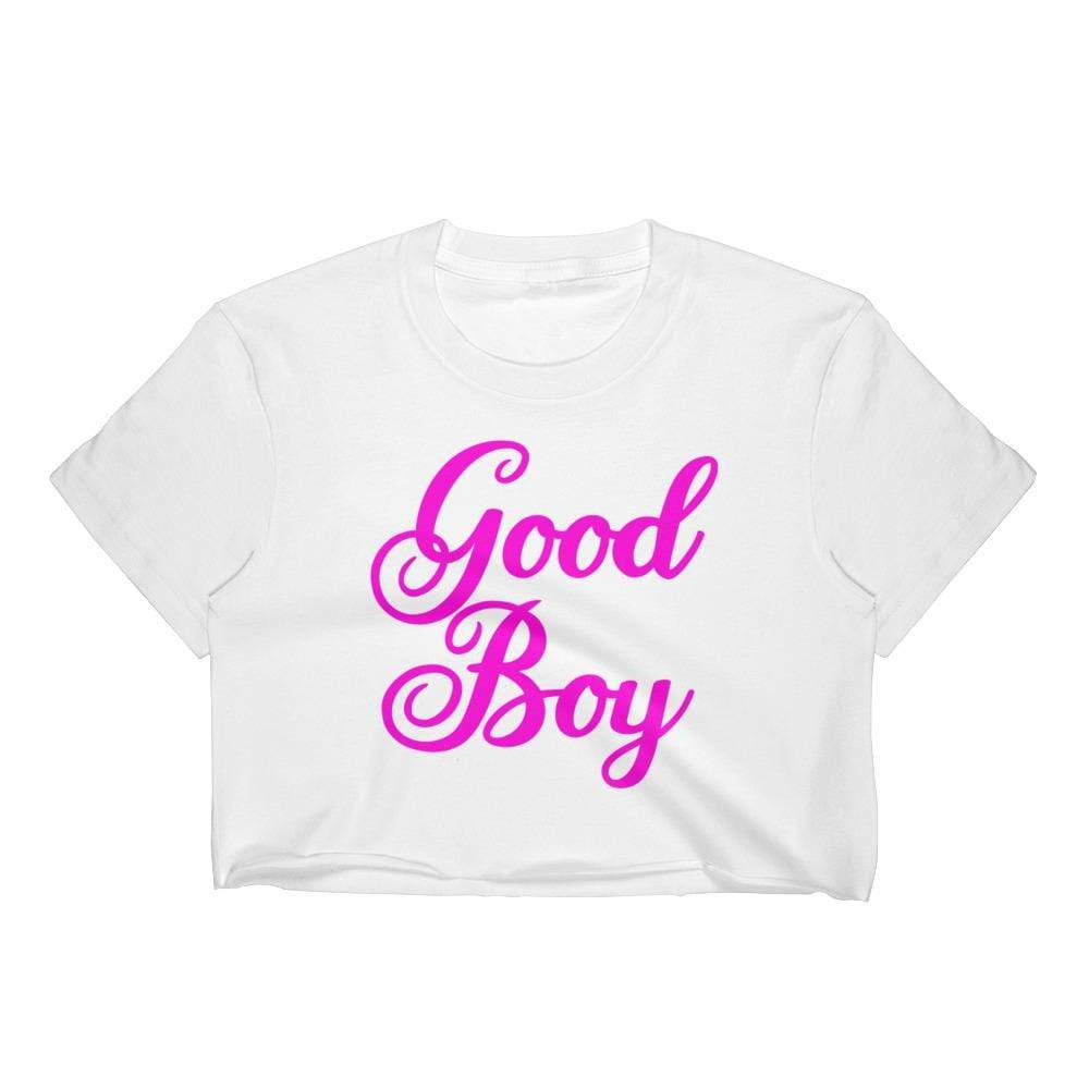 Good Boy Crop Top