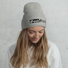Good Girl Embroidered Beanie