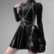 Kinky Cloth 200000298 Gothic Chest Metal Chain Belt