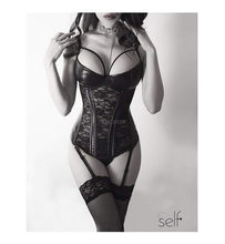Load image into Gallery viewer, Gothic Lace Corset