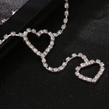 Kinky Cloth 200000298 Heart, Cute Bling Bling, Rhinestone Waist Chain