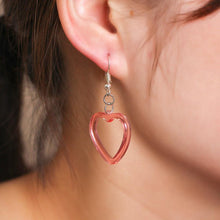 Kinky Cloth Jewelry & Watches Heart Earrings