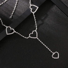 Kinky Cloth 200000298 Heart Rhinestone Waist Chain