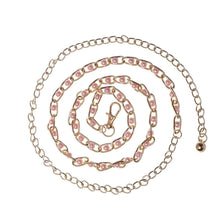 Kinky Cloth 200000298 pink Heart Rhinestone Waist Chain