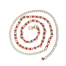 Kinky Cloth 200000298 red Heart Rhinestone Waist Chain