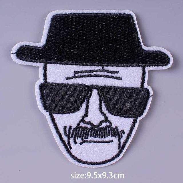 Kinky Cloth Patch Heisenberg Patch