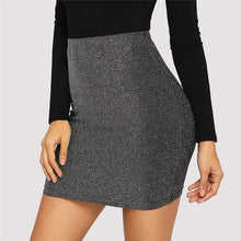 Kinky Cloth 349 High Waist Metallic Mini Skirt