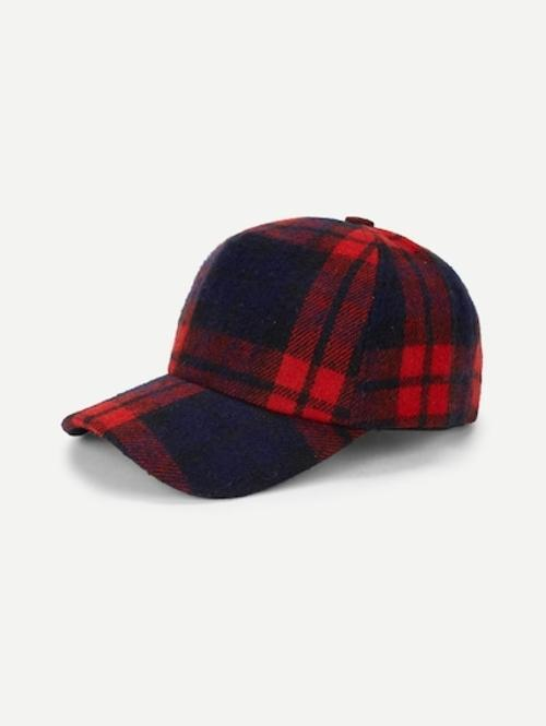 Hipster Flannel Cap at Kinky Cloth
