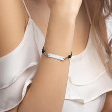 Kinky Cloth White Rhodium His Bracelet