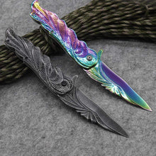 Kinky Cloth knife Rainbow Holographic Rainbow Knife