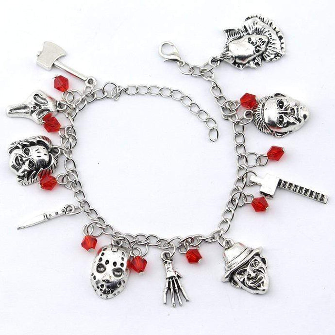 Kinky Cloth Horror Film Charm Bracelet