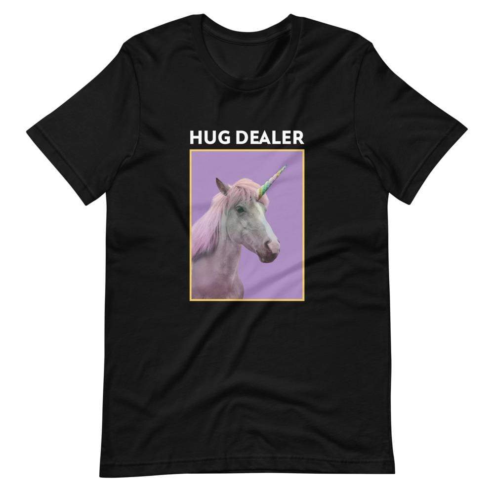 Kinky Cloth Black / XS Hug Dealer Unicorn T-Shirt