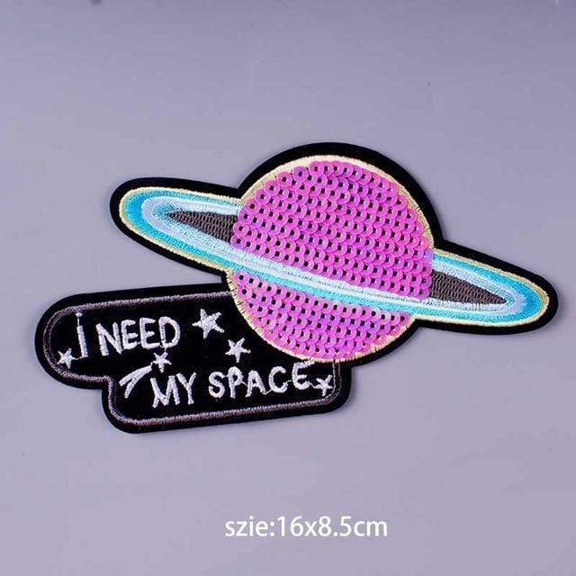 Kinky Cloth Patch I Need My Space Patch