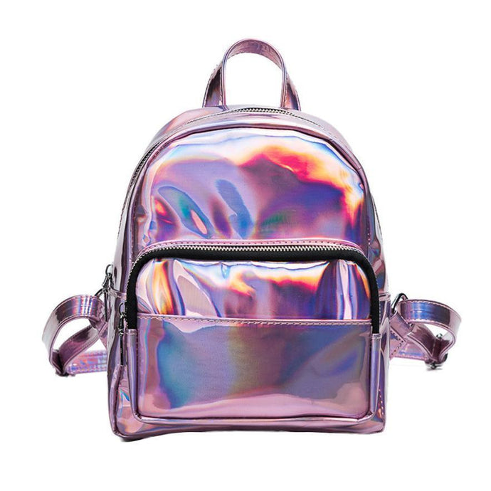 Kinky Cloth Pink Inter Gallactic Holographic Bag