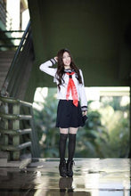 Load image into Gallery viewer, Kinky Cloth White / S Japanese School Girl Uniform