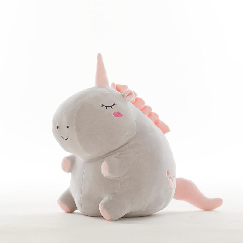 Kinky Cloth none Gray / 20cm Kawaii Unicorn Stuffie Plush