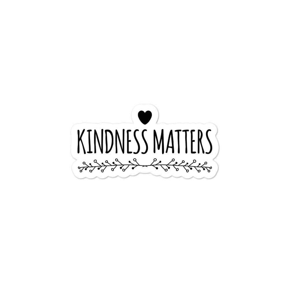 Kinky Cloth 3x3 Kindness Matters Bubble-free stickers