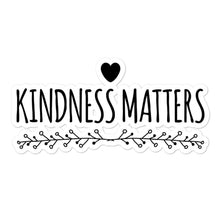 Kinky Cloth 5.5x5.5 Kindness Matters Bubble-free stickers