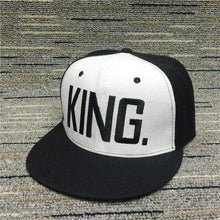 Kinky Cloth accessories Black White King King & Queen Embroidered Hats