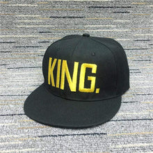 Kinky Cloth accessories Gold King King & Queen Embroidered Hats