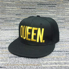 Kinky Cloth accessories Gold Queen King & Queen Embroidered Hats