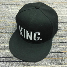 Kinky Cloth accessories Solid King King & Queen Embroidered Hats