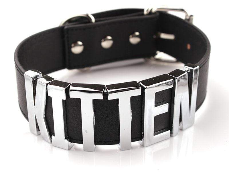 Kinky Cloth Necklace Kitten Collar