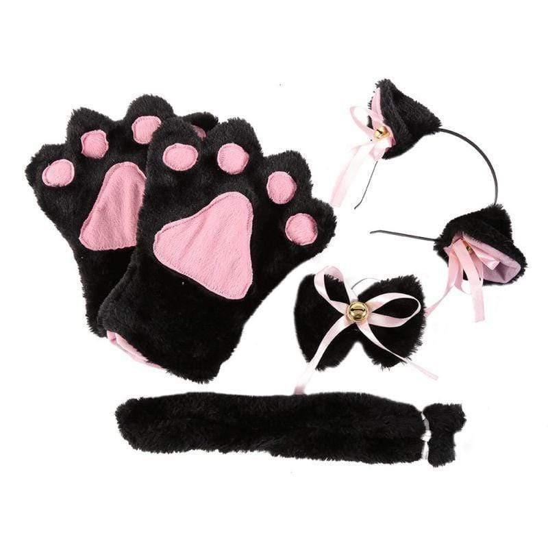 Kinky Cloth Accessories Black Kittens Play Set