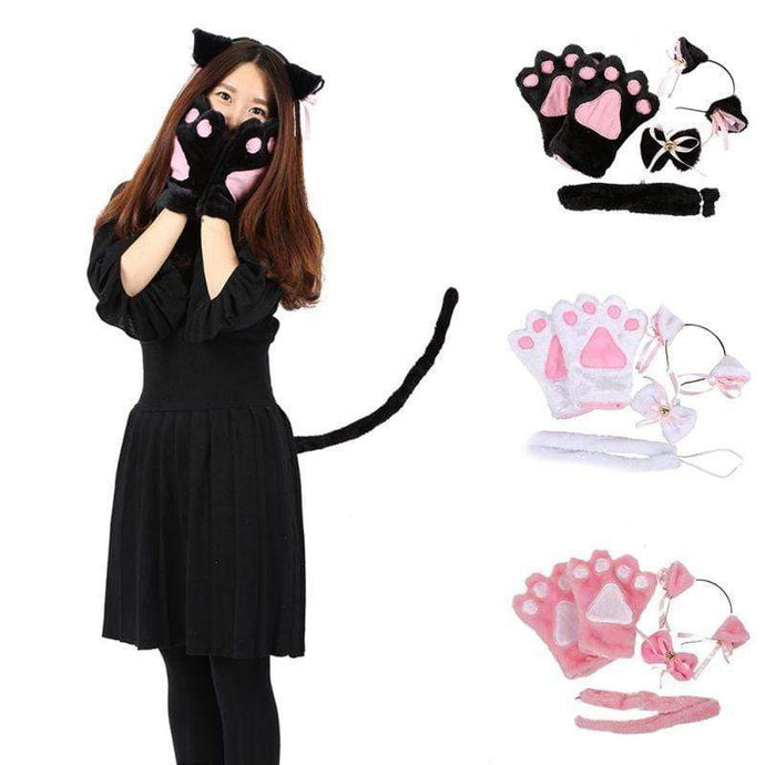 Kinky Cloth Black Kittens Play Set