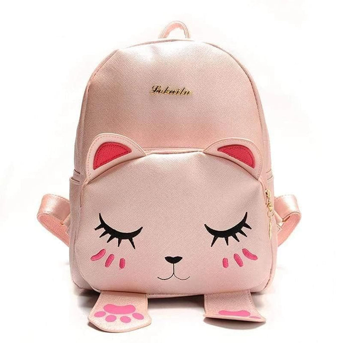 Turquoise Chloe Bags & Wallets Kitty Cat Backpack Bag