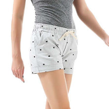 Kinky Cloth Gray / One Size Kitty Print Pastel Shorts